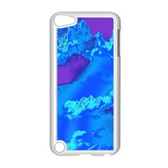Sky Pattern Apple Ipod Touch 5 Case (white) by Valentinaart