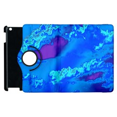 Sky Pattern Apple Ipad 2 Flip 360 Case by Valentinaart