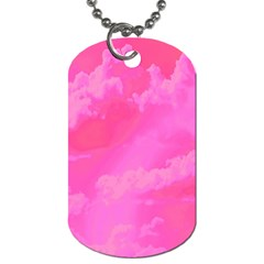Sky Pattern Dog Tag (one Side) by Valentinaart