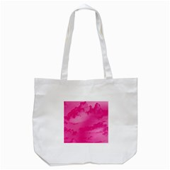 Sky Pattern Tote Bag (white) by Valentinaart