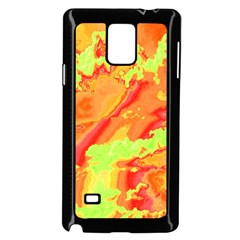 Sky Pattern Samsung Galaxy Note 4 Case (black)