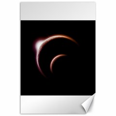 Planet Space Abstract Canvas 24  X 36  by Nexatart