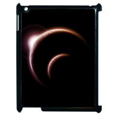 Planet Space Abstract Apple Ipad 2 Case (black) by Nexatart