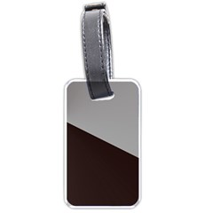 Course Gradient Color Pattern Luggage Tags (one Side)