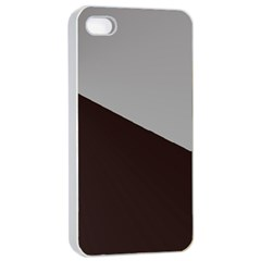 Course Gradient Color Pattern Apple Iphone 4/4s Seamless Case (white) by Nexatart