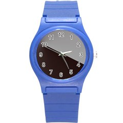 Course Gradient Color Pattern Round Plastic Sport Watch (s) by Nexatart