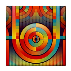 Abstract Pattern Background Tile Coasters