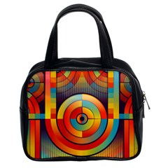 Abstract Pattern Background Classic Handbags (2 Sides)