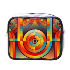 Abstract Pattern Background Mini Toiletries Bags by Nexatart