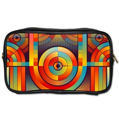 Abstract Pattern Background Toiletries Bags by Nexatart