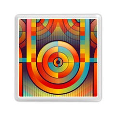 Abstract Pattern Background Memory Card Reader (square)  by Nexatart