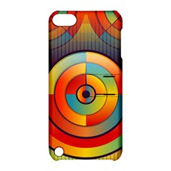 Abstract Pattern Background Apple Ipod Touch 5 Hardshell Case With Stand
