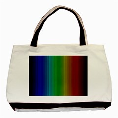 Spectrum Colours Colors Rainbow Basic Tote Bag by Nexatart