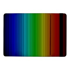 Spectrum Colours Colors Rainbow Samsung Galaxy Tab Pro 10 1  Flip Case by Nexatart