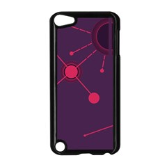Abstract Lines Radiate Planets Web Apple Ipod Touch 5 Case (black) by Nexatart