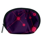 Abstract Lines Radiate Planets Web Accessory Pouches (Medium)  Front