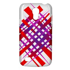 Chaos Bright Gradient Red Blue Galaxy S4 Mini