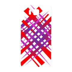 Chaos Bright Gradient Red Blue Samsung Galaxy Alpha Hardshell Back Case by Nexatart