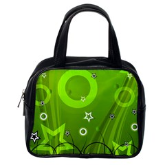 Art About Ball Abstract Colorful Classic Handbags (one Side)