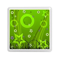 Art About Ball Abstract Colorful Memory Card Reader (square)  by Nexatart