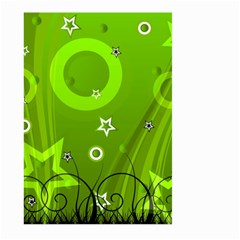 Art About Ball Abstract Colorful Large Garden Flag (two Sides) by Nexatart