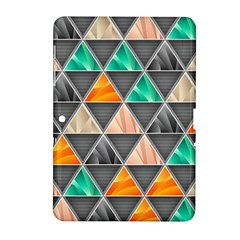 Abstract Geometric Triangle Shape Samsung Galaxy Tab 2 (10 1 ) P5100 Hardshell Case  by Nexatart