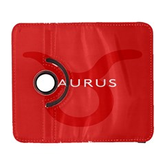 Zodizc Taurus Red Galaxy S3 (flip/folio) by Mariart