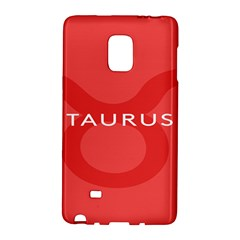 Zodizc Taurus Red Galaxy Note Edge by Mariart