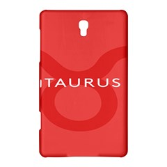 Zodizc Taurus Red Samsung Galaxy Tab S (8 4 ) Hardshell Case  by Mariart