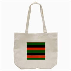 Color Green Orange Black Tote Bag (cream) by Mariart