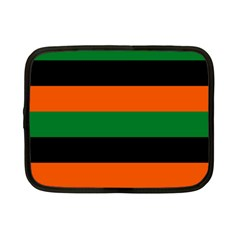 Color Green Orange Black Netbook Case (small)  by Mariart