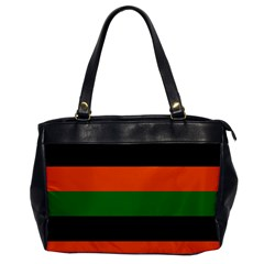 Color Green Orange Black Office Handbags by Mariart