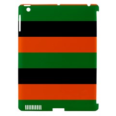 Color Green Orange Black Apple Ipad 3/4 Hardshell Case (compatible With Smart Cover) by Mariart