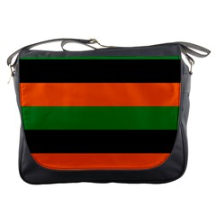 Color Green Orange Black Messenger Bags by Mariart
