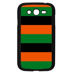 Color Green Orange Black Samsung Galaxy Grand Duos I9082 Case (black) by Mariart