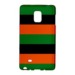 Color Green Orange Black Galaxy Note Edge by Mariart