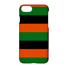 Color Green Orange Black Apple Iphone 7 Hardshell Case by Mariart