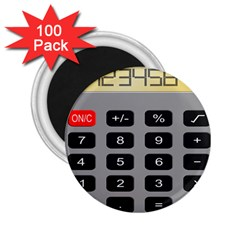 Calculator 2 25  Magnets (100 Pack)  by Mariart