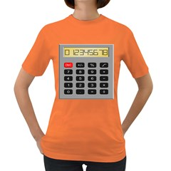 Calculator Women s Dark T Shirt by Mariart