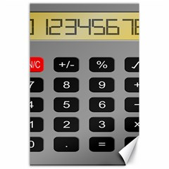 Calculator Canvas 24  X 36  by Mariart