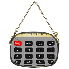 Calculator Chain Purses (two Sides)  by Mariart