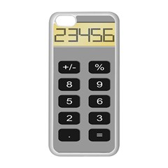 Calculator Apple Iphone 5c Seamless Case (white) by Mariart