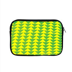 Arrow Triangle Green Yellow Apple Macbook Pro 15  Zipper Case by Mariart
