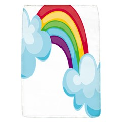 Could Rainbow Red Yellow Green Blue Purple Flap Covers (s)  by Mariart