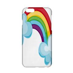 Could Rainbow Red Yellow Green Blue Purple Apple Iphone 6/6s Hardshell Case by Mariart