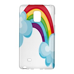 Could Rainbow Red Yellow Green Blue Purple Galaxy Note Edge by Mariart