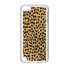 Cheetah Skin Spor Polka Dot Brown Black Dalmantion Apple Ipod Touch 5 Case (white) by Mariart