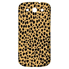Cheetah Skin Spor Polka Dot Brown Black Dalmantion Samsung Galaxy S3 S Iii Classic Hardshell Back Case by Mariart