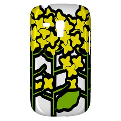 Flower Floral Sakura Yellow Green Leaf Galaxy S3 Mini by Mariart