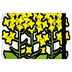 Flower Floral Sakura Yellow Green Leaf Ipad Air 2 Flip by Mariart